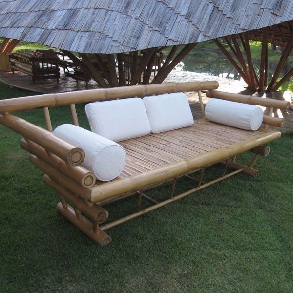 Unique Bamboo Sofa Chair Designs Ideas, How To Care For Outdoor Bamboo Furniture