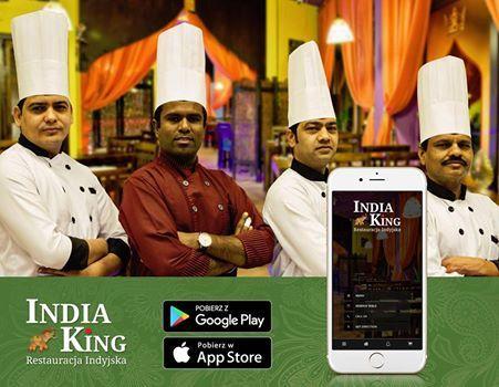 Kochani, mamy dla Was świetna wiadomość! Już od dzisiaj możecie składać zamówienia poprzez naszą mobilna aplikacje lub przez stronę internetową.  Aplikacja dostępna na ios oraz android. Zapraszamy po więcej na https://www.indiaking.pl/