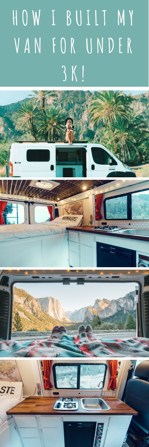 DIY Promaster Camper Conversion Guide – Part I – Jessi James