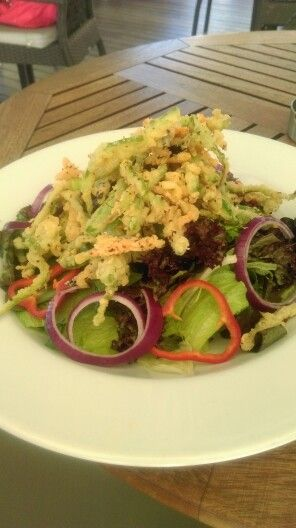 Crispy salad By Chef Buyuksuda