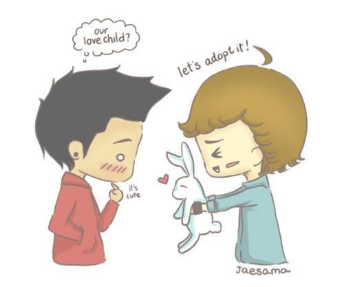 One Direction cartoon | Ziam