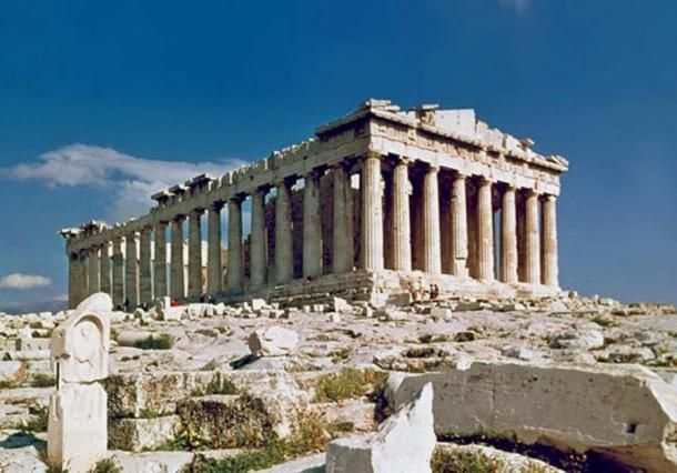 The Parthenon in Athens, Greece, from where the marble friezes were taken. (public domain Almost two hundred years after Elgin's act, the Parthenon Marbles remain some of the most controversial artifacts in the British Museum, with more and more British people suggesting that the Parthenon Marbles should return to Greece.