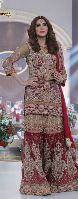 Shazia Kiyani Bridal Collection Bcw 2016-2017  #ShaziaKiyani