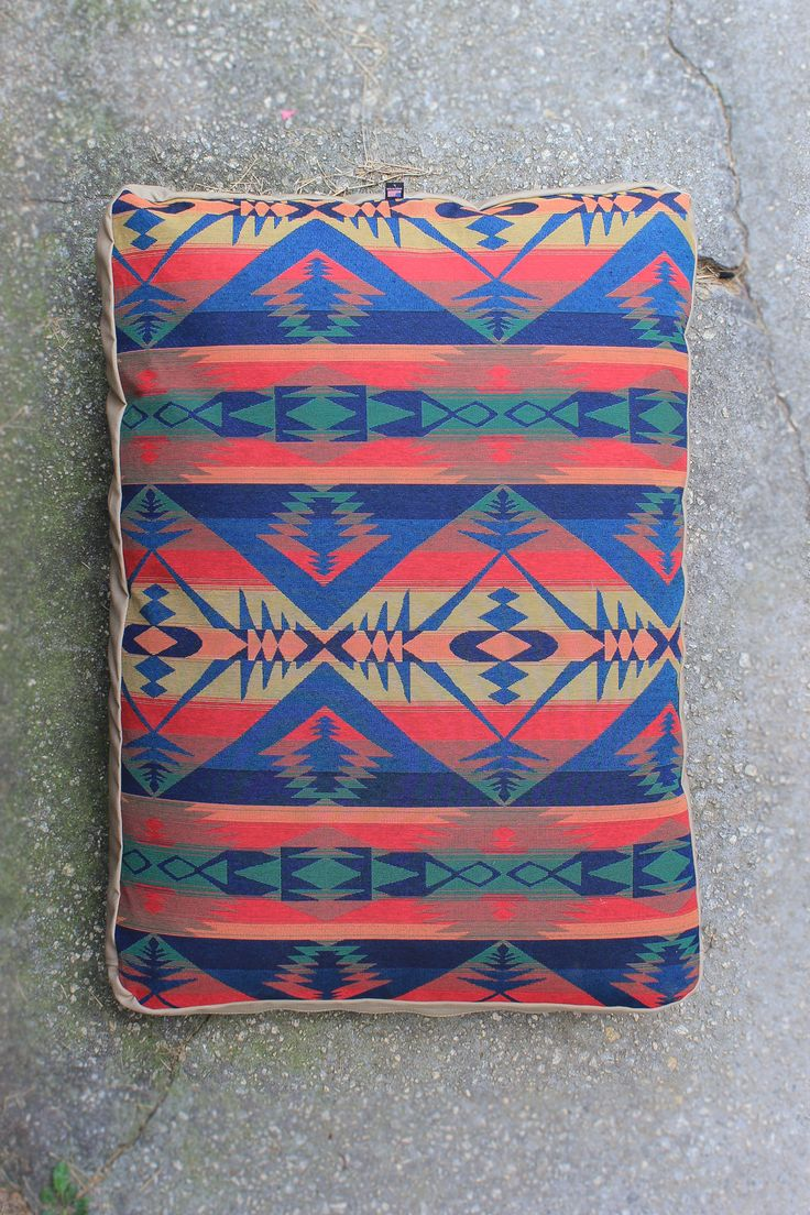 Southwestern Dog Bed