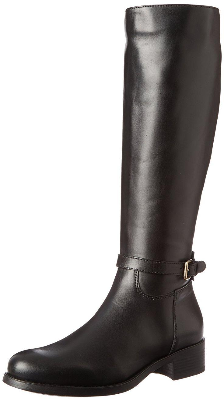 La Canadienne Sandra Damen US 6 Schwarz Mode-Knie hoch Stiefel - Stiefel  für frauen (*Partner-Link)