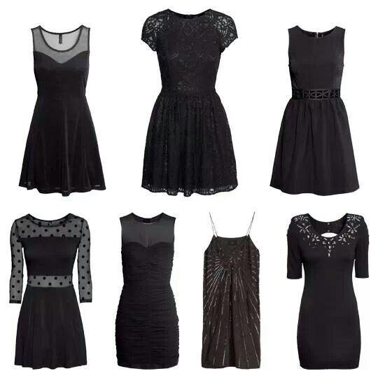 Little black dress ★ H & M