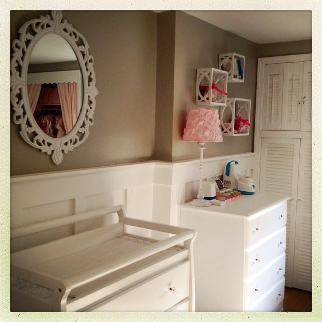 Themes For Baby Room Antique Mirrors: 127 Best Images About Pink & Gray Baby Room On Pinterest