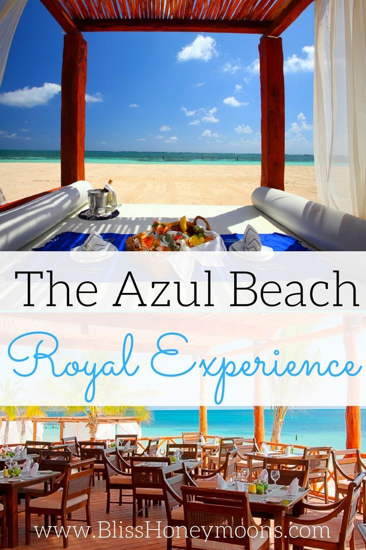 Choosing a resort is as important as choosing a destination! Azul Beach Destination Weddings are the crème de la crème of our boutique all-inclusive resort choices for your dream wedding. You and your guests will get the royal treatment, even as you enjoy the natural delights of the stunning Riviera Maya. Book this family friendly resort at www.blisshoneymoons.com