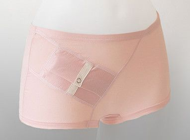 Got diabetes? Wearing a dress without pockets? No problem. These panties have pockets for your insulin pump.