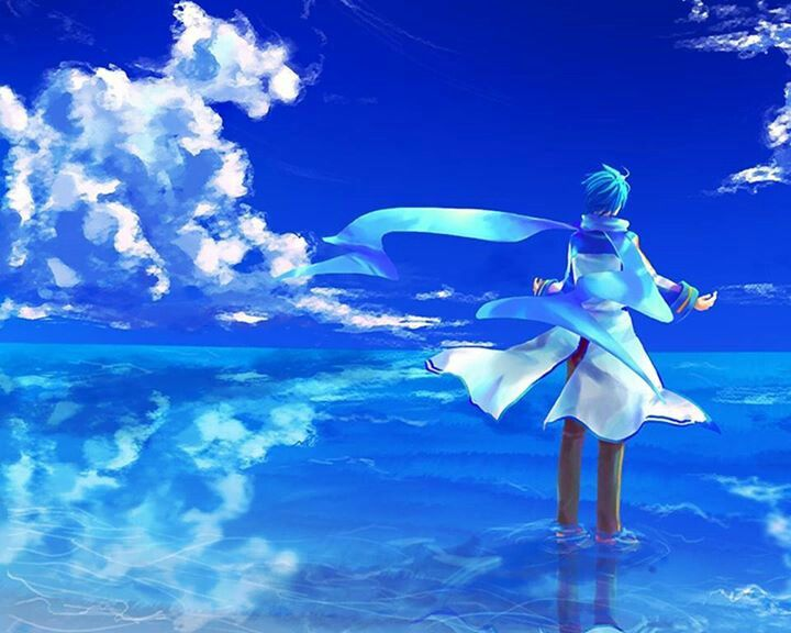 Live Pc Anime Girl Wallpapers Kaito Shion Anime Wallpapers Hd 4k Download For Mobile
