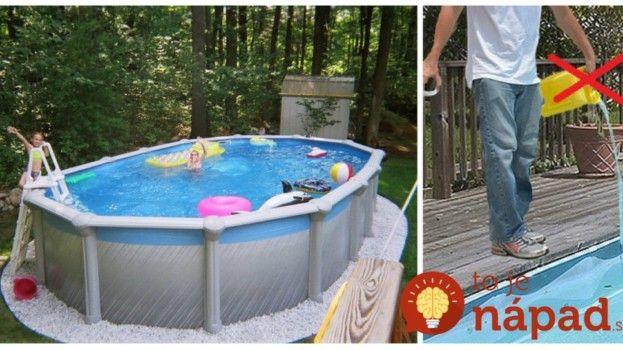 Perfektný trik pre každého, kto má bazén: Takto jednoducho ho udržíte čistý bez drahej chémie!