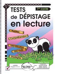 Tests de dépistage en lecture 1er cycle