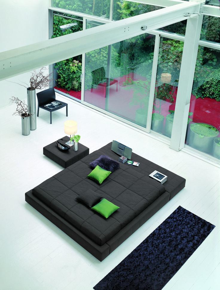 51 best beds images on pinterest - Letto Imbottito Grigio Bloom Bonaldo