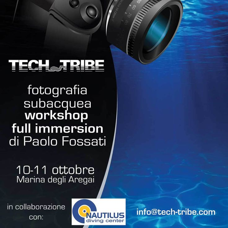 Fotografia subacquea con Paolo Fossati. Workshop