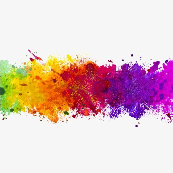 Color Ink Splash, Color Clipart, Splash Clipart PNG