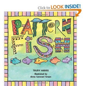 This book is awesome! Pattern Fish helps kids learn patterns, is interactive, has great illustrations that go along with what you are reading and lends itself to about a bajillion projects. A win.