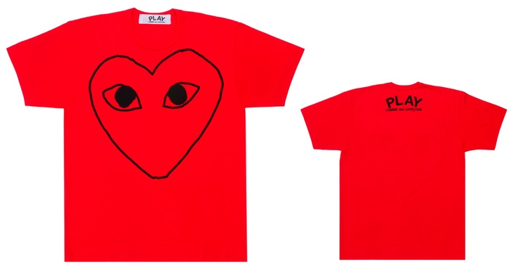Play Comme des garcon - Red