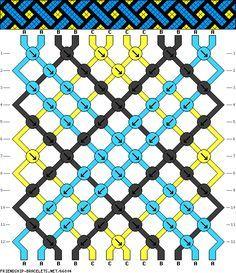 http://friendship-bracelets.net/pattern.php?id=65851 .... http://friendship-bracelets.net/pattern.php?id=67489 .... http://friendship-bracelets.net/pattern.php?id=67678
