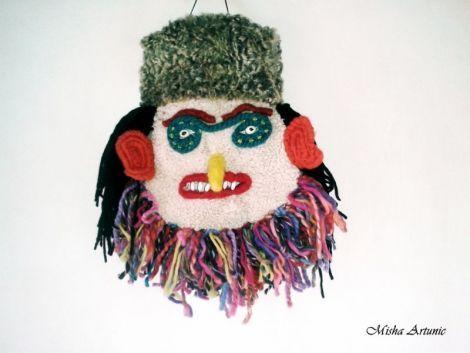 Masca decorativa - Mos Tetea - rezervat