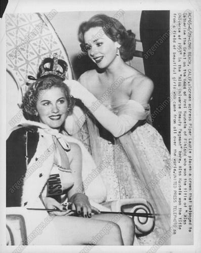 1953 Miss Universe Contest Armi Kuusela of Finland