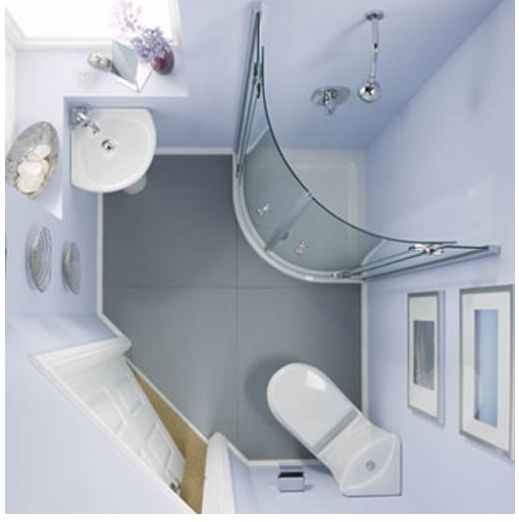 confined space shower