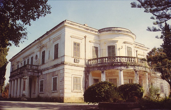 Mon-Repos Palace-  Greece, King George I named the area it Mon-Repos.  This was the royal family's spring residence on Ionian island of Corfu.
