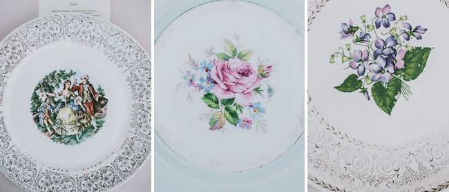 Could buy mismatched vintage plates from 2nd hand shops?
