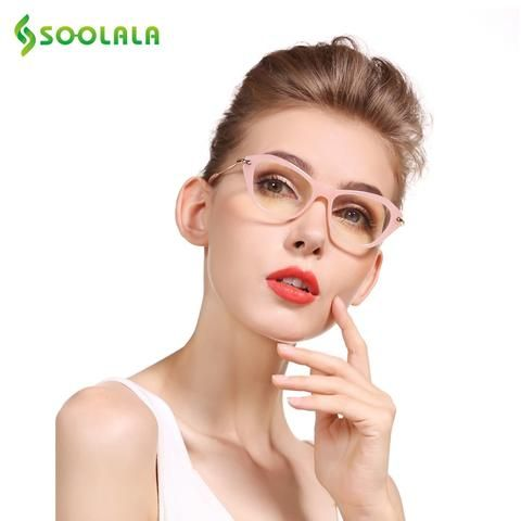 420d03d9e3 SOOLALA Cateye Reading Glasses Women Men Glasses Frame Reading Glasses +0.5  0.75 1.0 1.25 1.5 1.75 2.0 2.25 2.5 2.75 3.0 3.5 4.0