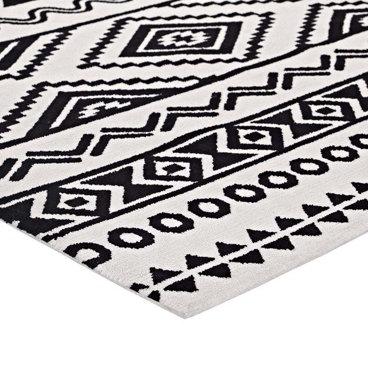 Black And White Cross Flatweave Rug 8x10 299 With Images Flat