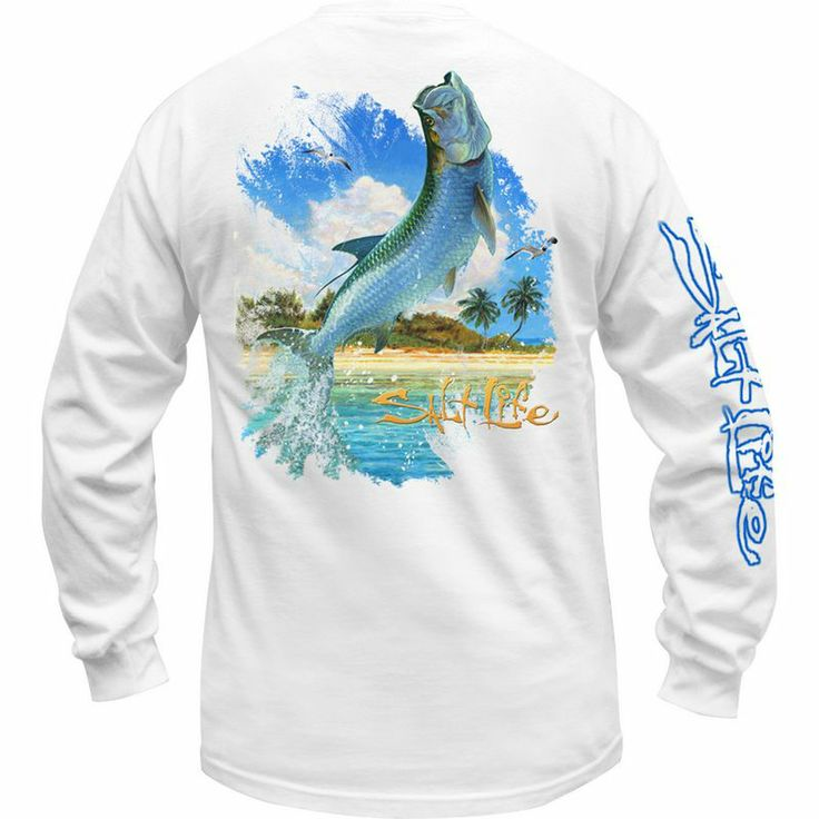 48 best t shirt fishing images on pinterest fishing for Salt life long sleeve fishing shirts