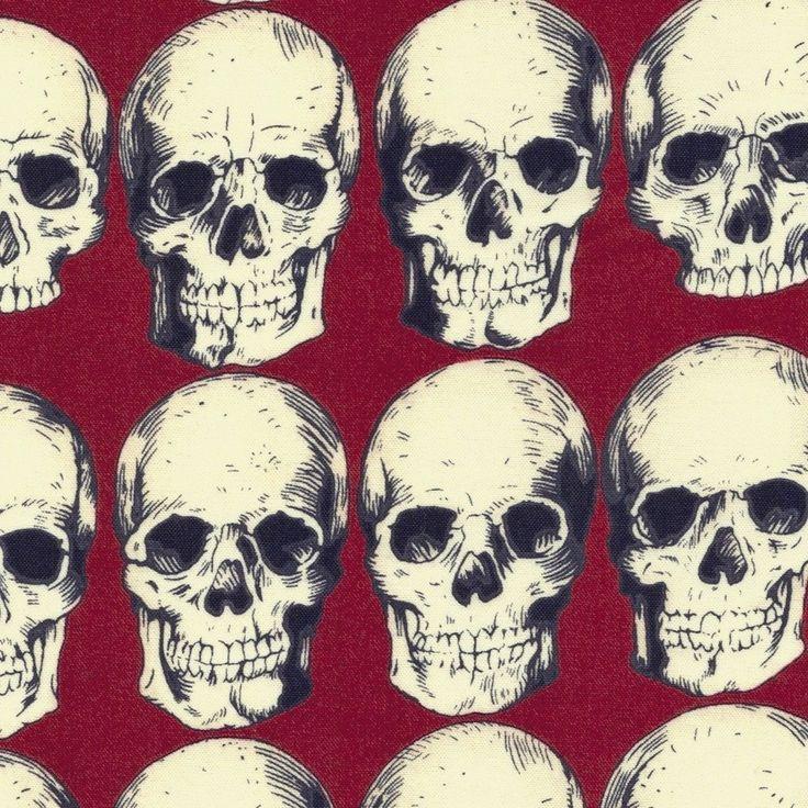 Rad Skulls Red