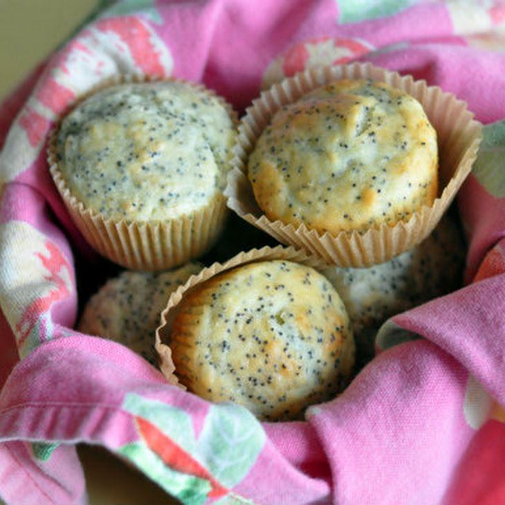 Lemon Poppy Seed Yogurt Muffins Recipe - substituted with Nancy's ...