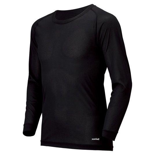 ¥2,800 +税 ジオライン クールメッシュ ラウンドネックシャツMen's(品番#1107614)NEW:高機能素材ジオライン®をメッシュ地に編み上げ、抜群の通気性と速乾性を実現した、暑い季節に最適なアンダーウェアです。軽やかな着心地のメッシュ地なので、熱がこもらず快適な着用感です。