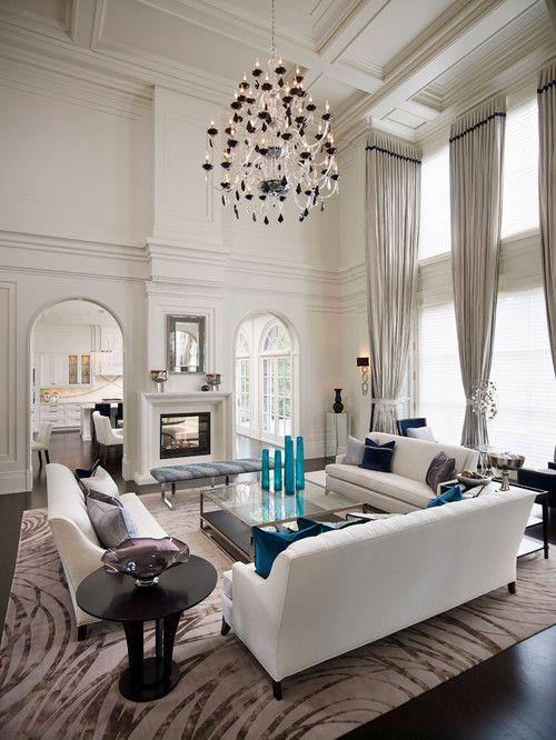 'Contemporary Classicism.' Regina Sturrock Design Inc., Burlington, Ontario. Roy Timm Photography.