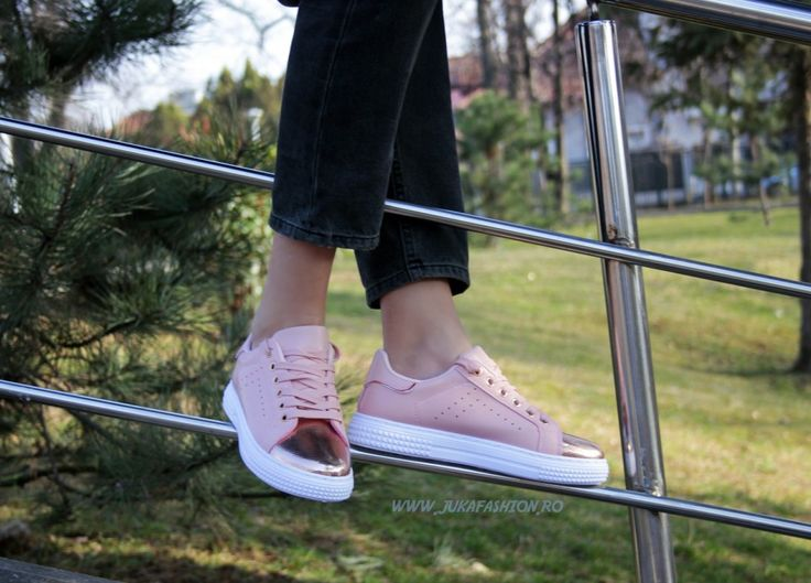 "Poze Pantof Dama Casual ""Chic"" Pink by JukaFashion.ro cod B5550-77"