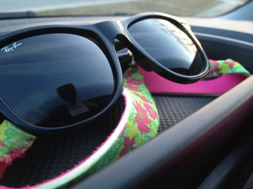 Lilly and Ray Bans.