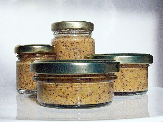la valigia sul letto: homemade honey mustard: salsa di senape al miele