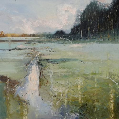 Clare Wiltsher | Dawn. Oil on canvas