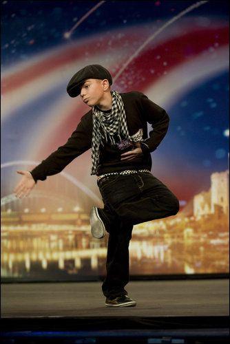 Aidan Davis on BGT! Incredible dancer!