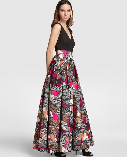 Resultado de imagen para faldas estampadas de moda
