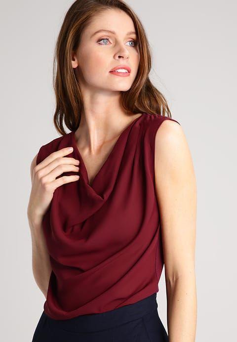 Vêtements Zalando Essentials Blouse - dark red bordeaux: 20,00 € chez Zalando (au 02/03/17). Livraison et retours gratuits et service client gratuit au 0800 915 207.