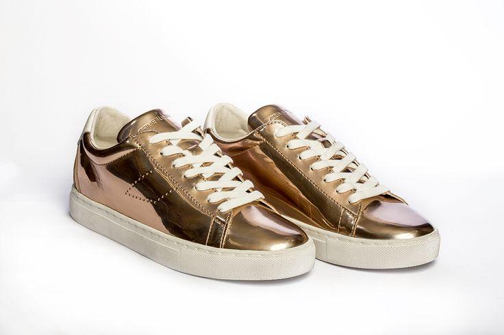 Golden sneaker by Crime Of London. #crimeoflondon #galleriadiscarpe #thessaloniki #style #shoes #shoestore #shoeporn #sneakers