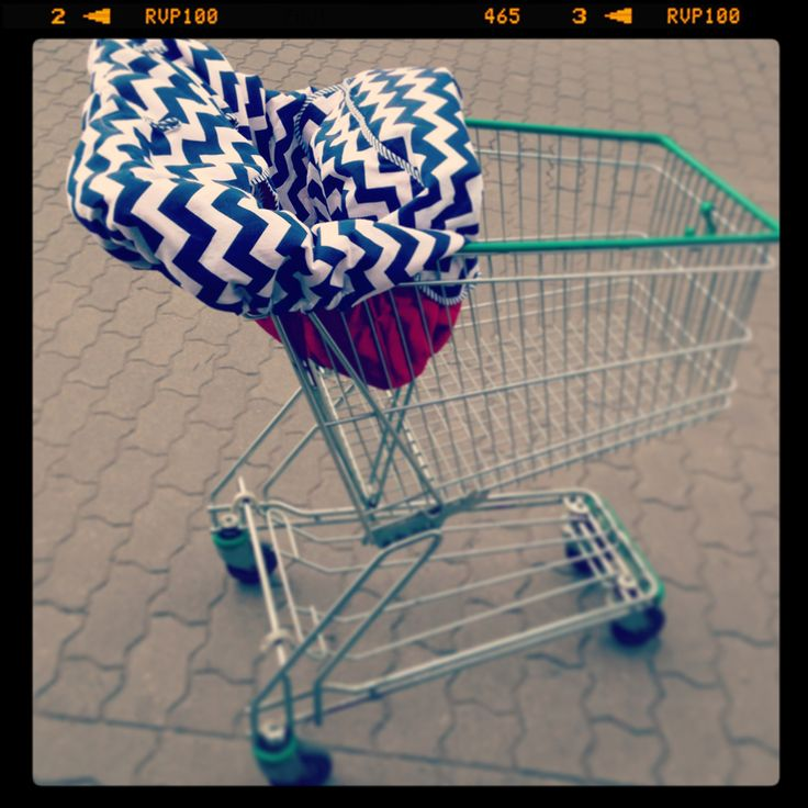 NEST - pokrowiec na wózek sklepowy