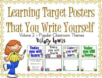 Learning Targets Made Easy-Volume 2-By Popular Demand $5