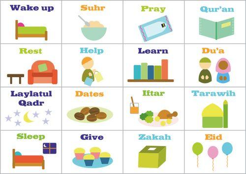 Things to do during Ramadhan.