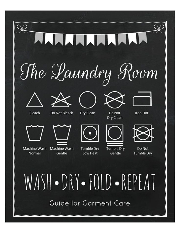 The Laundry room -Free print