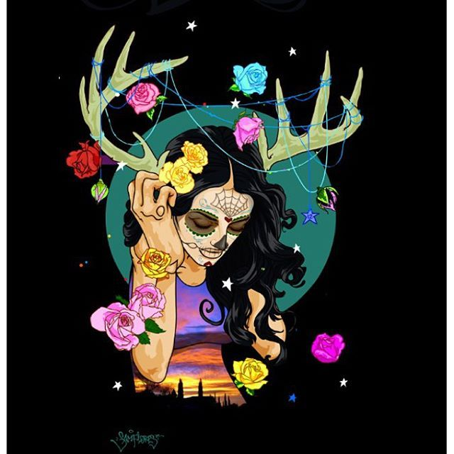deer los muertos new design for shop skate graphic limited edition only 50 made we have a few left contact at for inquiries