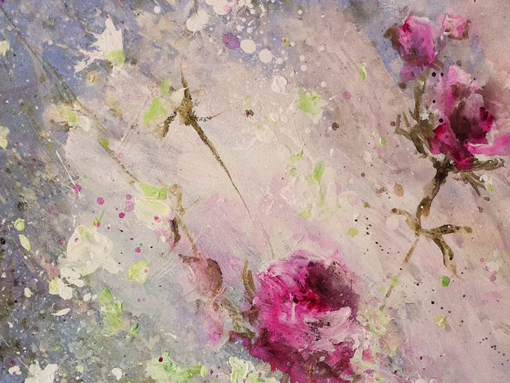 Painting by Laurence Amelie.: Art Soft, Lovely Paintings, Artwork Artists, Floral Paintings, Art Laurence Amelie, Amelie Artist, Beautiful Things