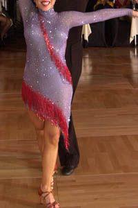 Amethyst & Ruby Latin/Rhythm Dress For Sale, Dance Costumes For Sale, Dance Gowns for sale