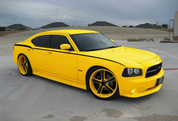 Dodge Charger, Yellow